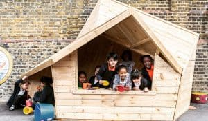 Primary school play shelter